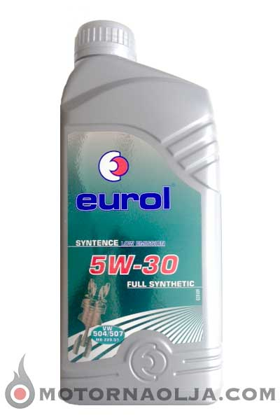 Eurol Syntence Longlife VW 504.00/507.00 C3 5W-30