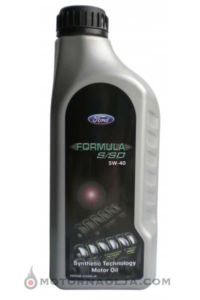 Ford Formula S/SD 5W-40