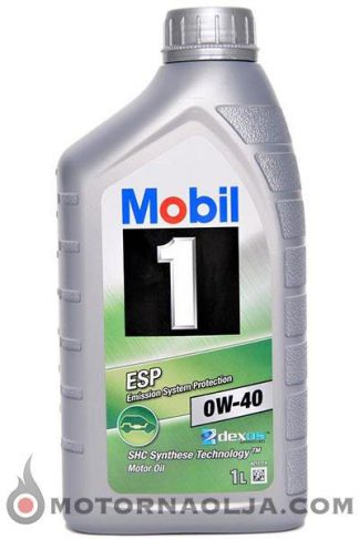 Mobil 1 ESP 0W-40