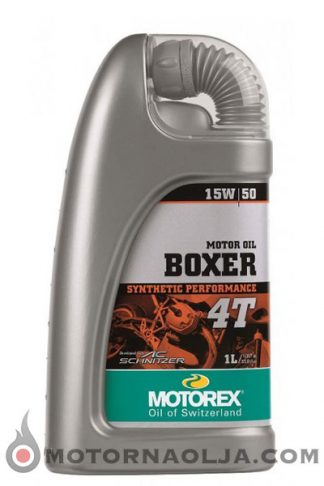 Motorex Boxer 4T 15W-50