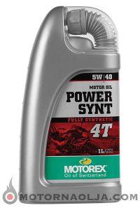 Motorex Power Synt 4T 5W-40