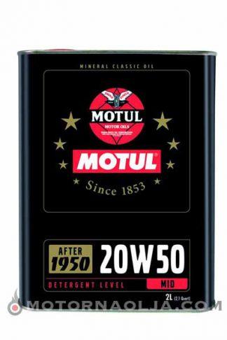 Motul Classic 20W-50