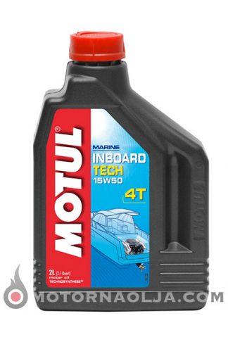 Motul Inboard Tech 4T 15W-50