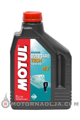 Motul Outboard Tech 4T 10W-40