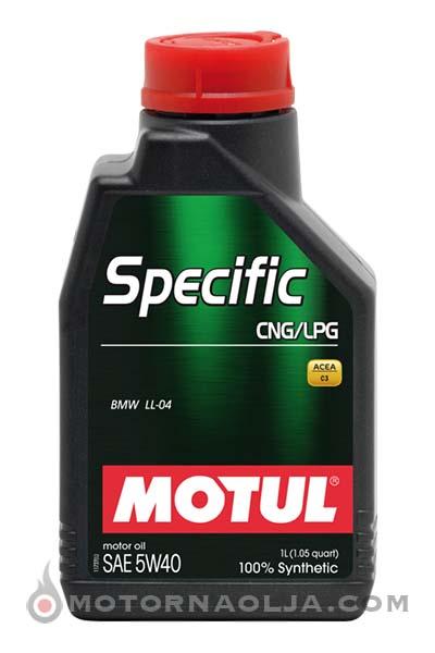 Motul Specific LPG/CNG 5W-40