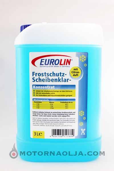 Zimska tekočina za pranje stekla Eurolin