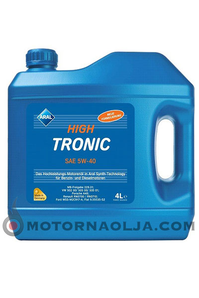 Aral High Tronic New 5W-40 4L