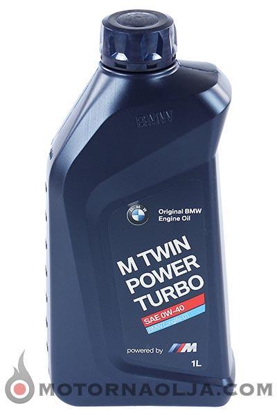 BMW M TwinPower Turbo LL-01 0W-40