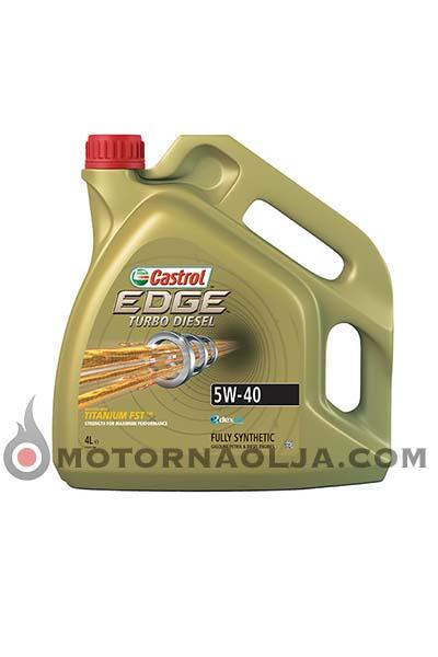 Castrol Edge Turbo Diesel FST Titanium 5W-40 4L