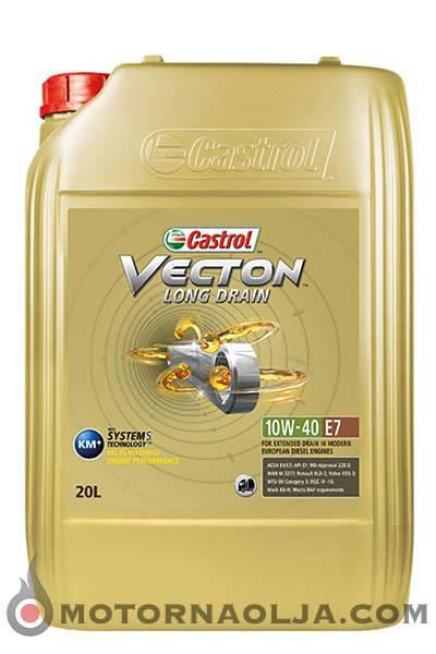 Castrol Vecton Long Drain E7 10W-40