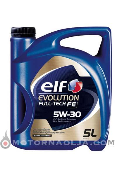 Elf Evolution Fulltech FE 5W-30 5L
