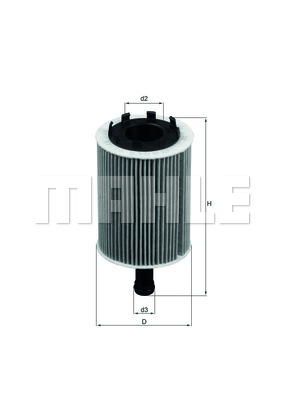 Filter olja Mahle OX 188D