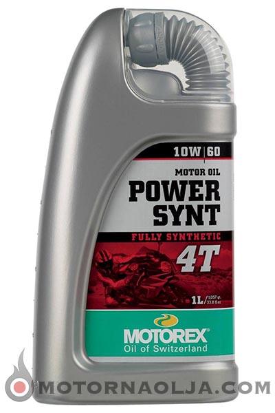 Motorex Power Synt 4T 10W-60