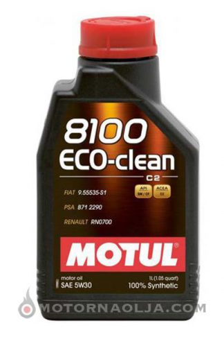 Motul 8100 Eco Clean C2 5W-30