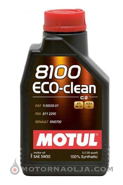 Motul 8100 Eco Clean C2 5W-30