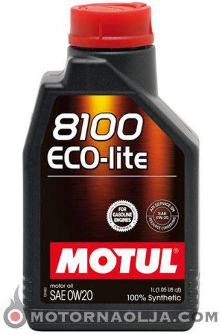 Motul 8100 Eco-lite 0W-20