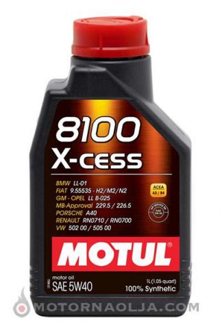 Motul 8100 X-cess 5W-40