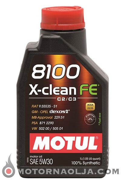 Motul 8100 X-clean FE 5W-30