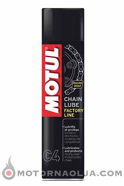 Motul C4 Chain Lube Factory Line Road Racing