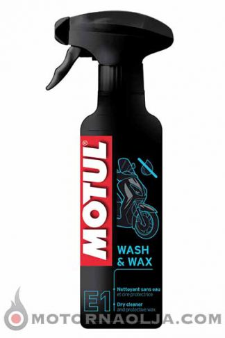 Motul E1 Wash Wax