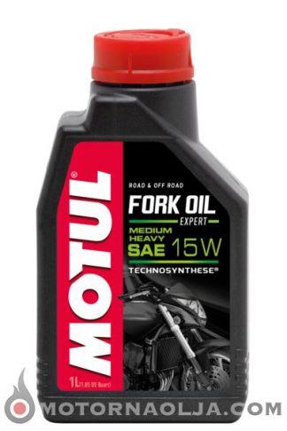 Motul Fork Oil Expert Medium Heavy 15W