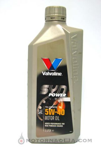 Valvoline Synpower 5W-40
