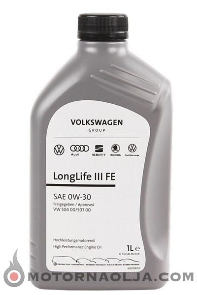 VW Original Longlife III FE 0W-30